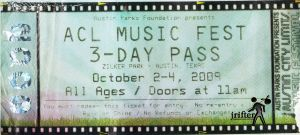 ACL Ticket 09