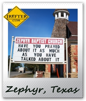 ZEPHYR CHURCH